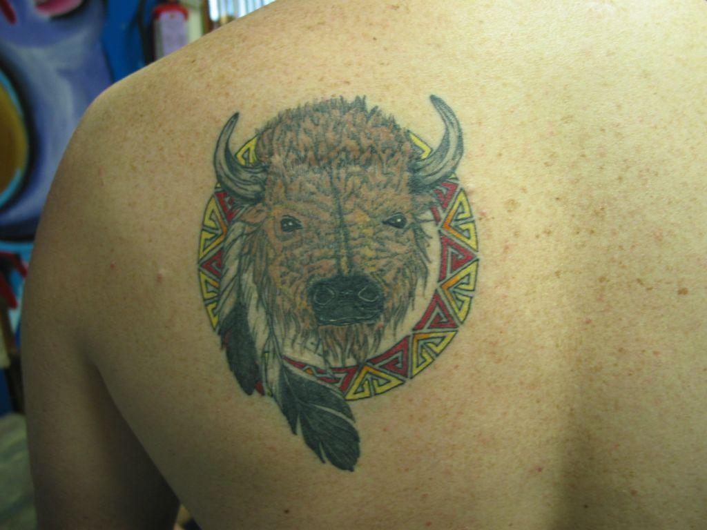 Bills tattoo portfolio for Tattoos of buffaloes
